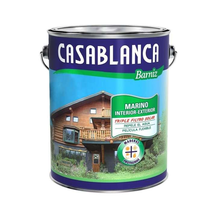 BARNIZ MARINO CASABLANCA 4 Lts. Triple filtro solar