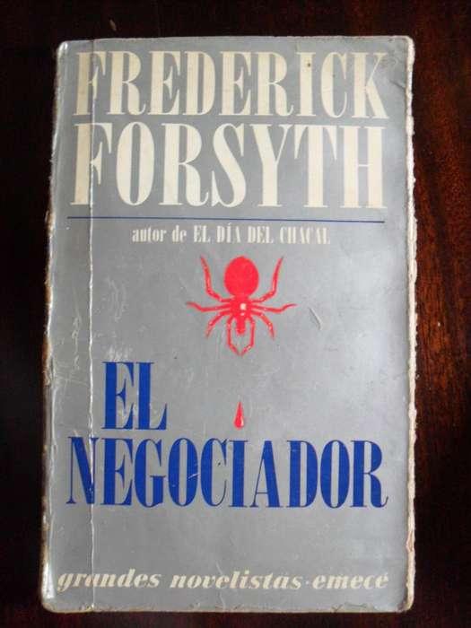 EL NEGOCIADOR FREDERICK FORSYTH 410 PAGINAS EMECE