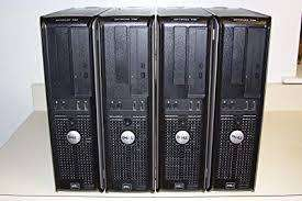 Dell Optiplex 740, Dual Core 2.5 GHz, 4.0 GB RAM, 160GB HD