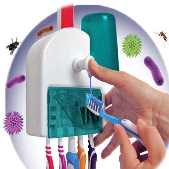 Dosificador de crema dental para 5 cepillos