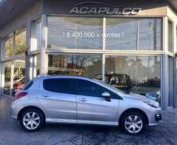Peugeot 308 Allure Hdi 2016 */ 400000  Cuotas /*