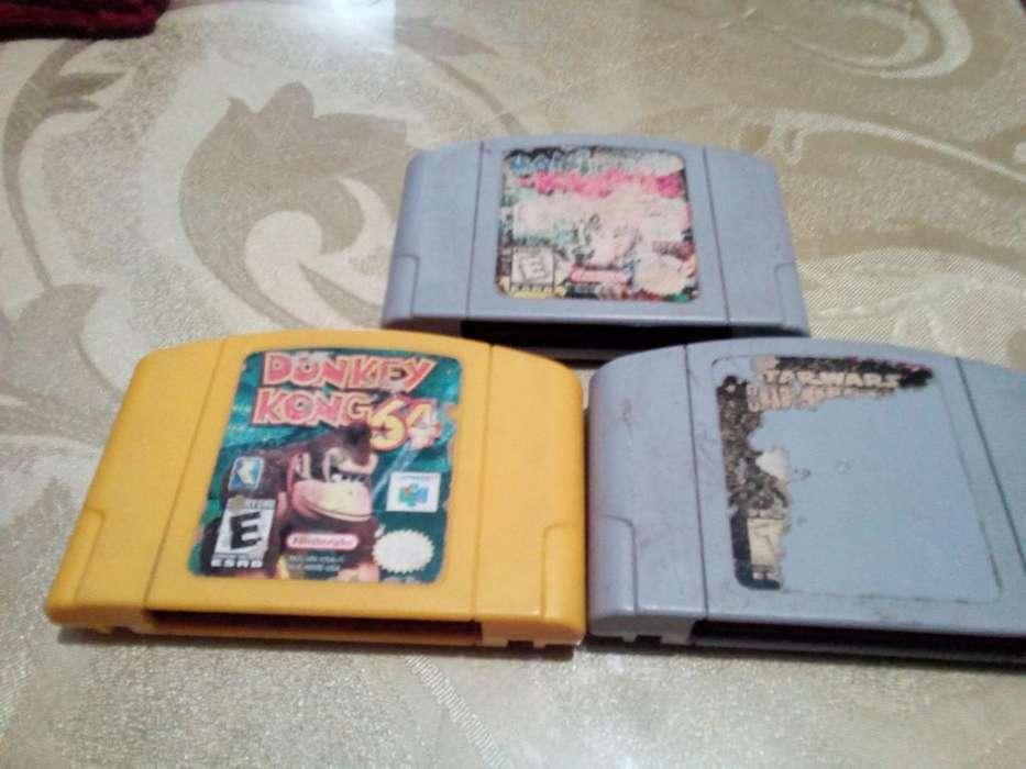 3 Juegos de Nintendo 64