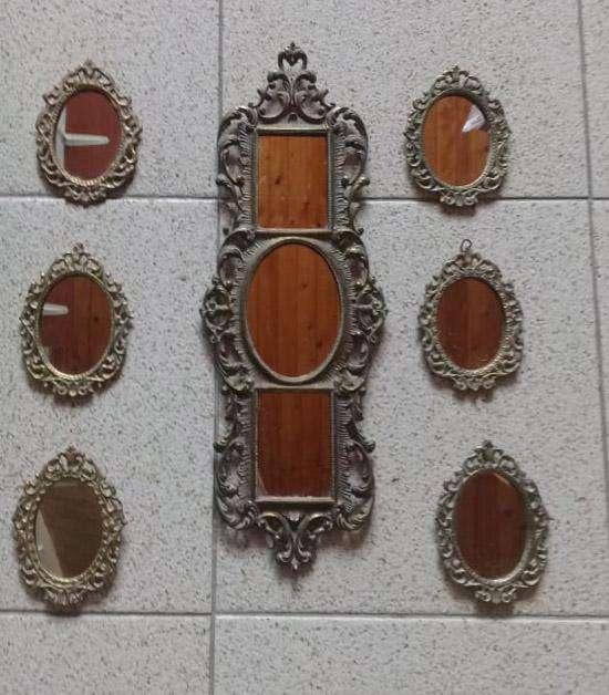 Espejos Marco de Bronce