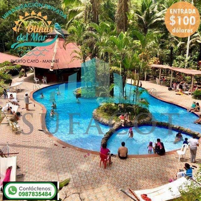 Su casa en Puerto Cayo rodeada de las mejores playas de Manabi - lotes con 100 de entrada /SD5