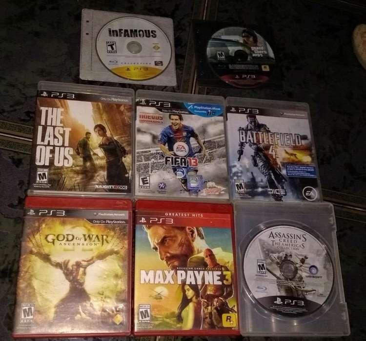 Juegos Playstation 3 Originales Cuidados