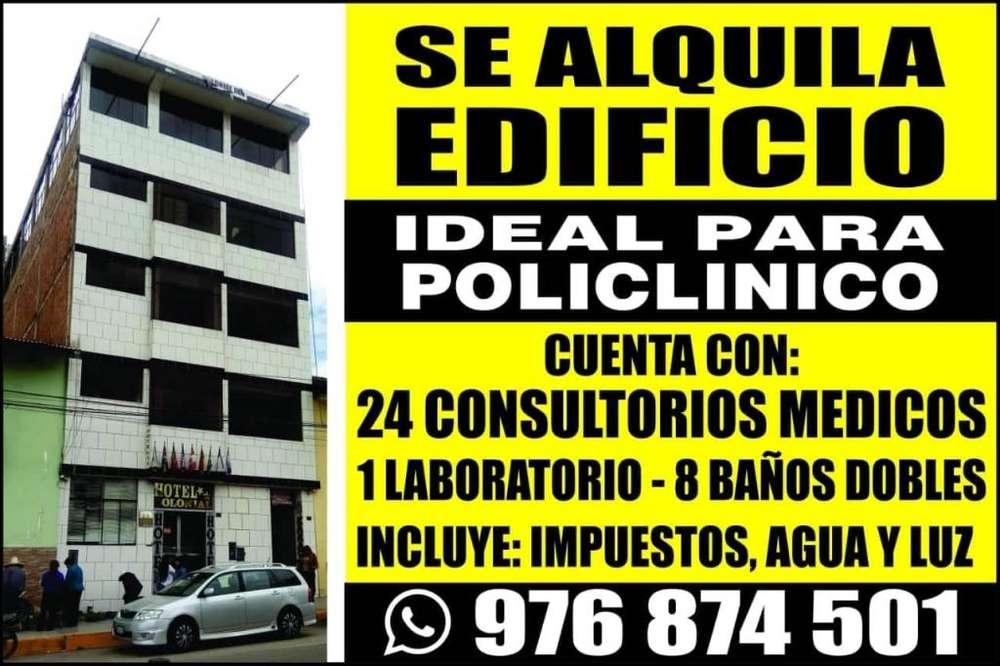 Se Alquila Edificio en Cajamarca Ideal para Policlínico
