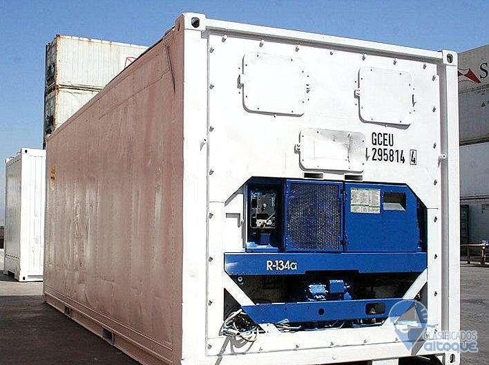 Container Camara Frigorifica Contenedor Refrigerados Carrier