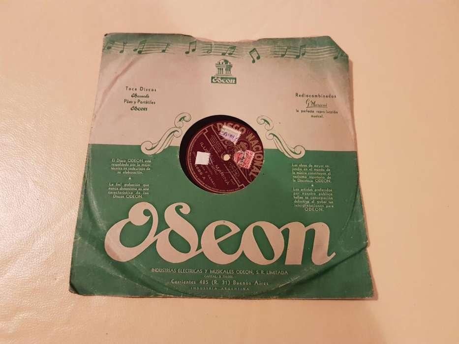 DISCO DE VINIO 78 RPM!!! ORQUEST TÍPICA F. CANARO