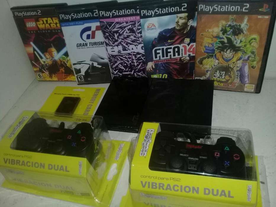 Playstation 2 Todo Nuevo Envío en Rosari