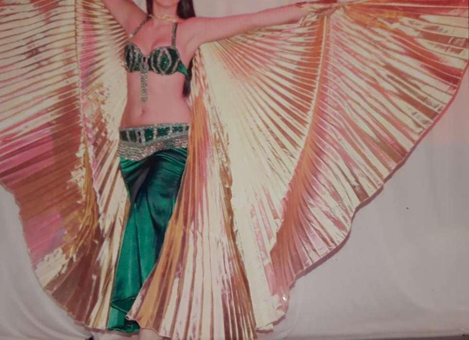 <strong>traje</strong> Danzas Árabes Verde