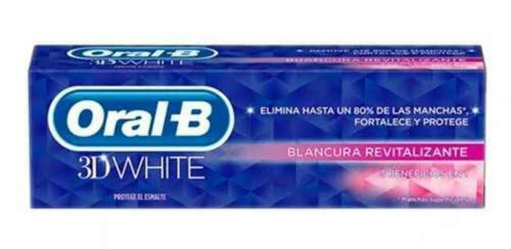 Crema Dental Oral B a Tan Solo 7500