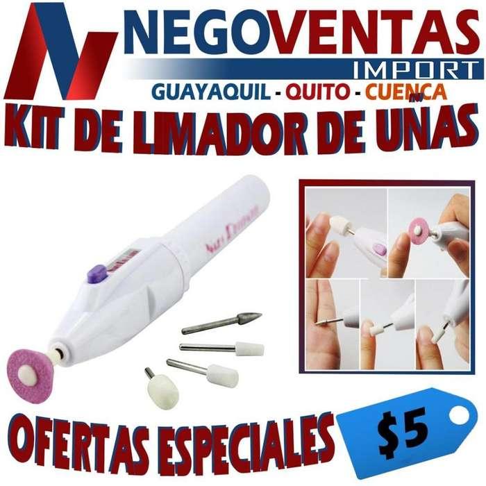 KIT DE LIMADOR DE UÑAS