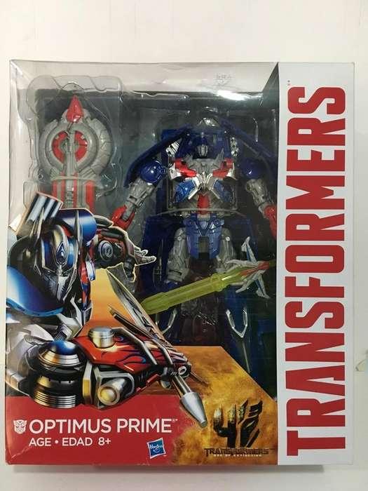 Transformers Optimus Prime Clase Lider