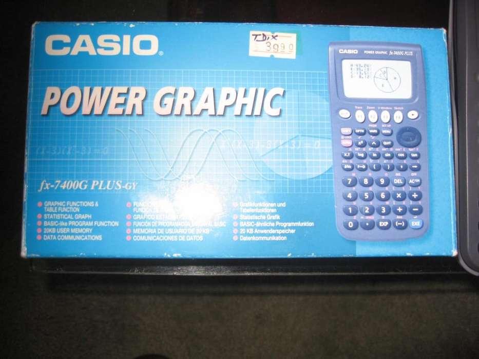 <strong>calculadora</strong> cientifica graficadora CASIO