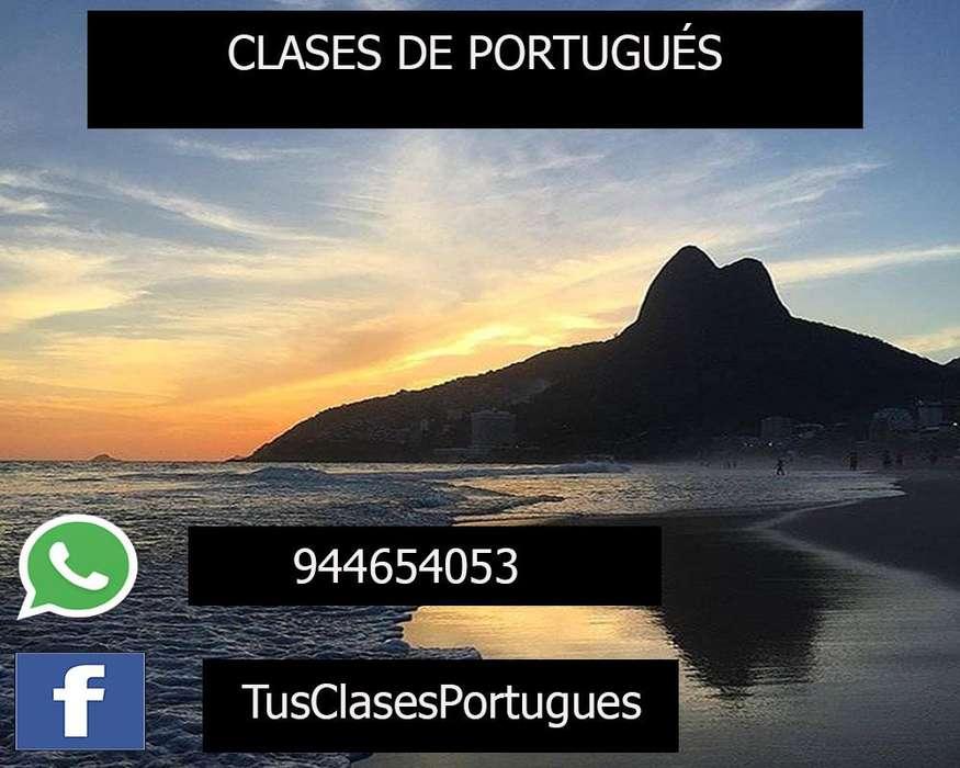 CLASES DE PORTUGUES CUSCO - 944654053- PROFESORES NATIVOS