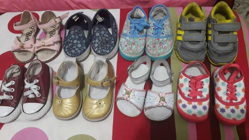 Lote Zapatos Niña 20 - 21