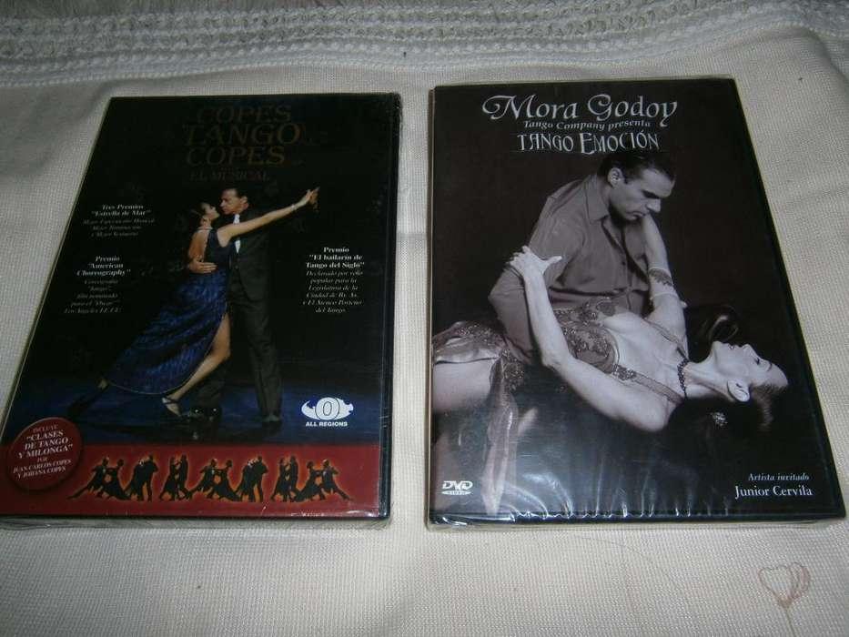 Videos originales sellados de tango