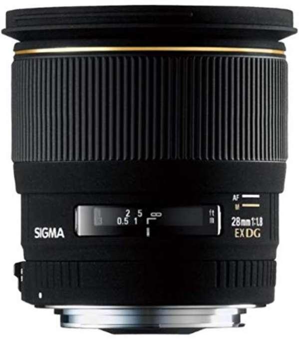 Vendo Lente Nikon Gran Angular 28mm