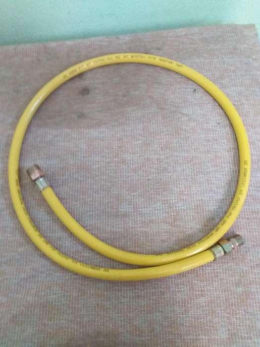 Manguera Amarilla Corriente Gas Natural