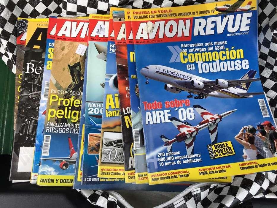 Revistas Aviacion Avion Revue