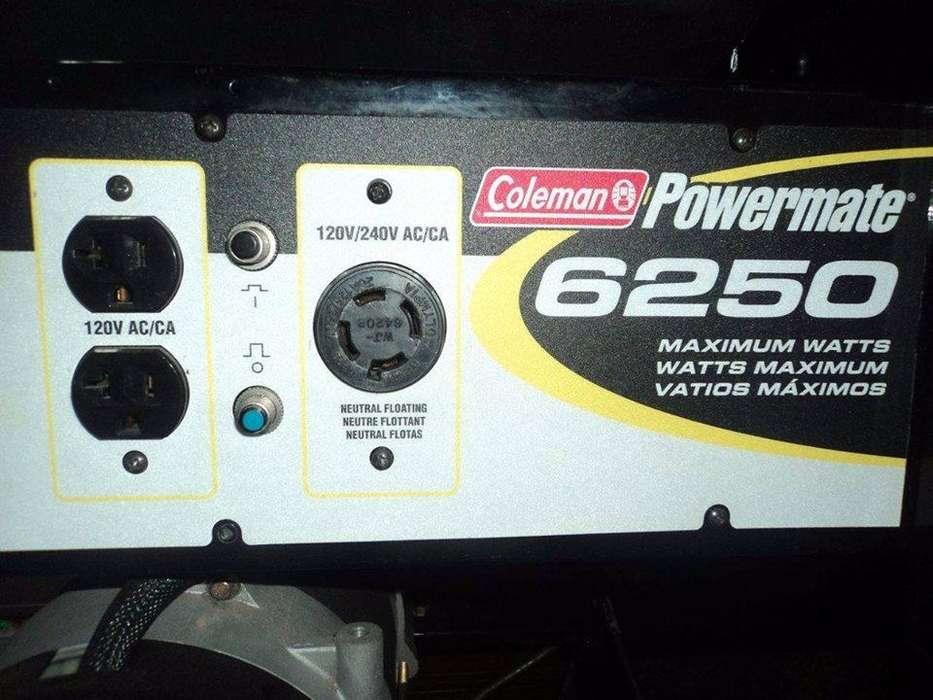 Generador Coleman Grupo Electrogeno 10 Hp Americano Poco Uso