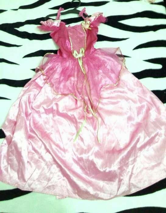 Disfraz Princesa Rosada