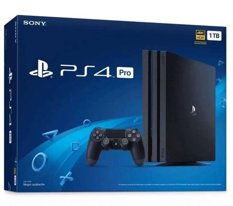 PS4 PRO HD 4K ULTRA 1 TB