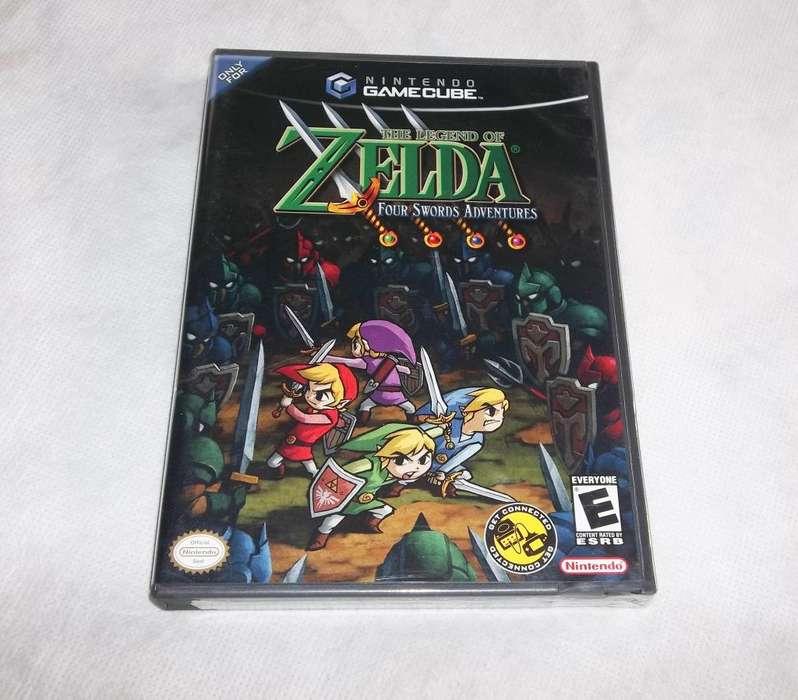 Zelda Four Swords gamecube nuevo - Pixelfunk
