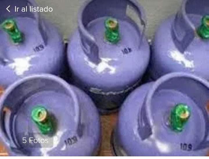 garrafas de 10 kg llenas, directo de planta precintada 3.100 con el envió incluido!!!