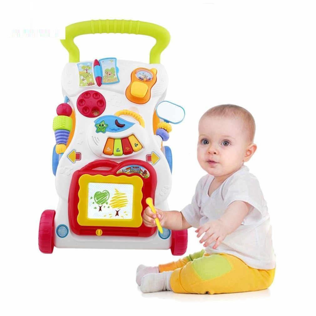 Andador caminador de aprendizaje infantil para bebé educativo musical