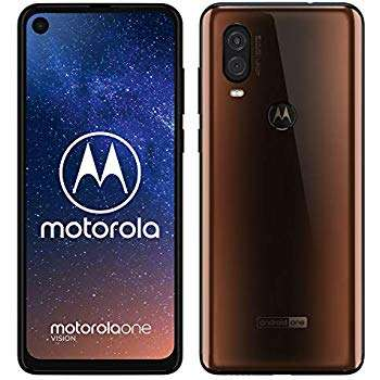 Celular Motorola One Vision 128gb Marró