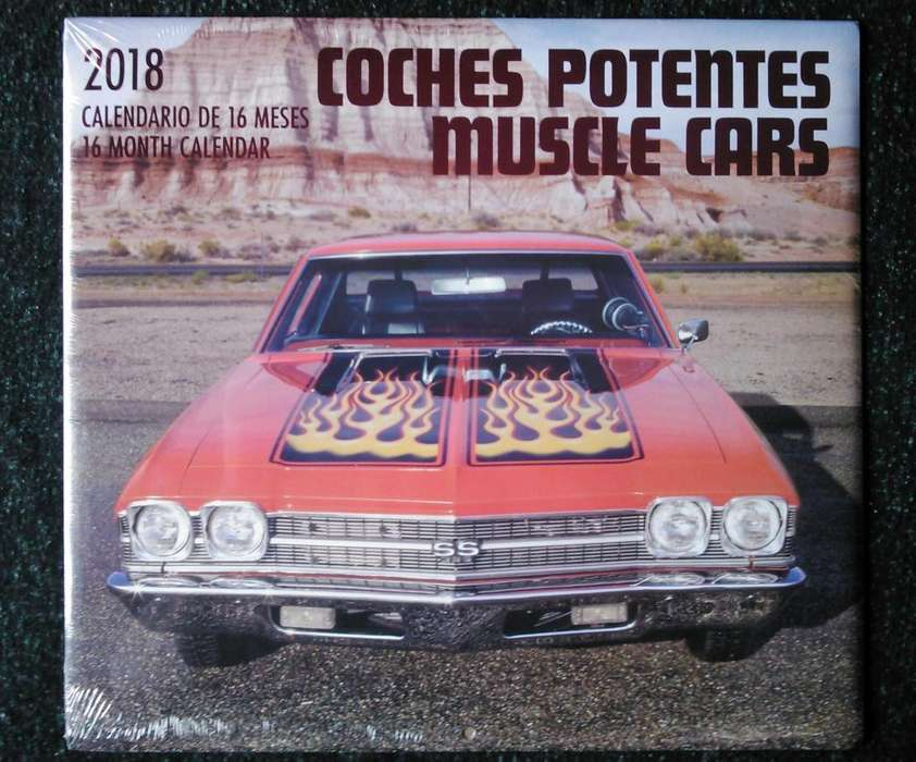 calendario de carros de coleccion sellado