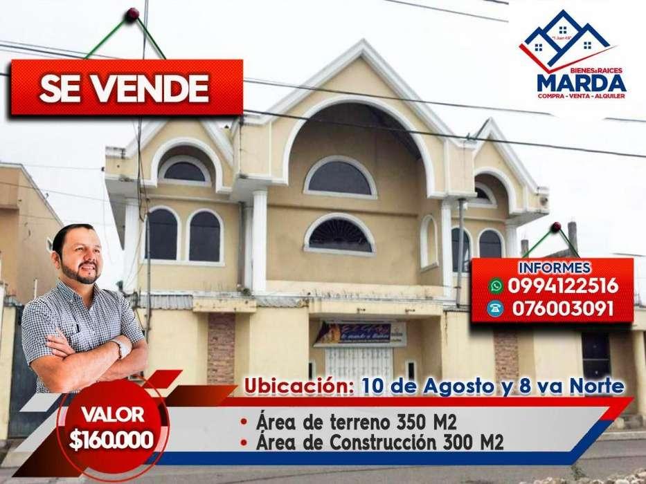 Casa con Iglesia en Venta