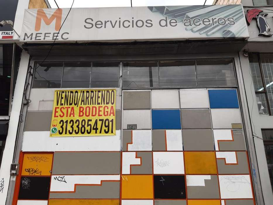 VENDO BODEGA ZONA OCCIDENTE