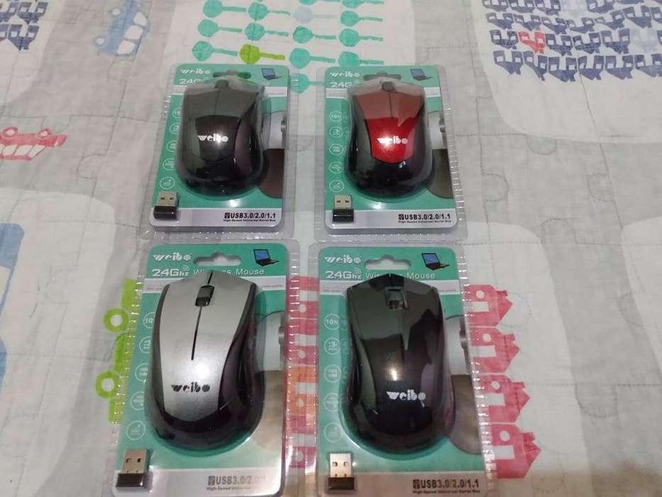 Mouse inalambricos nuevos