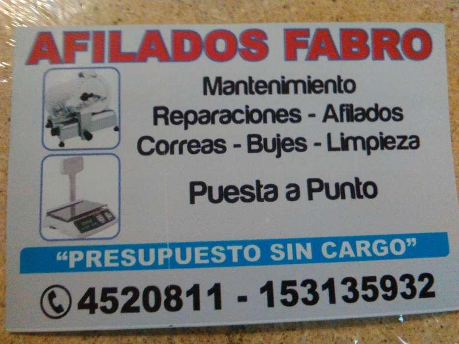 CORTADORA DE FIAMBRE SERV.TECNICO-REPARACIONES - VENTAS NUEVAS Y USADAS
