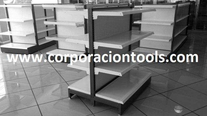 Módulos En Melamina Y Metal Para Minimarket Gondola Peru