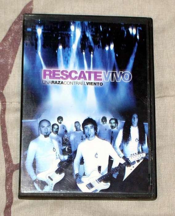 Rescate vivo Una Raza contra el viento DVD