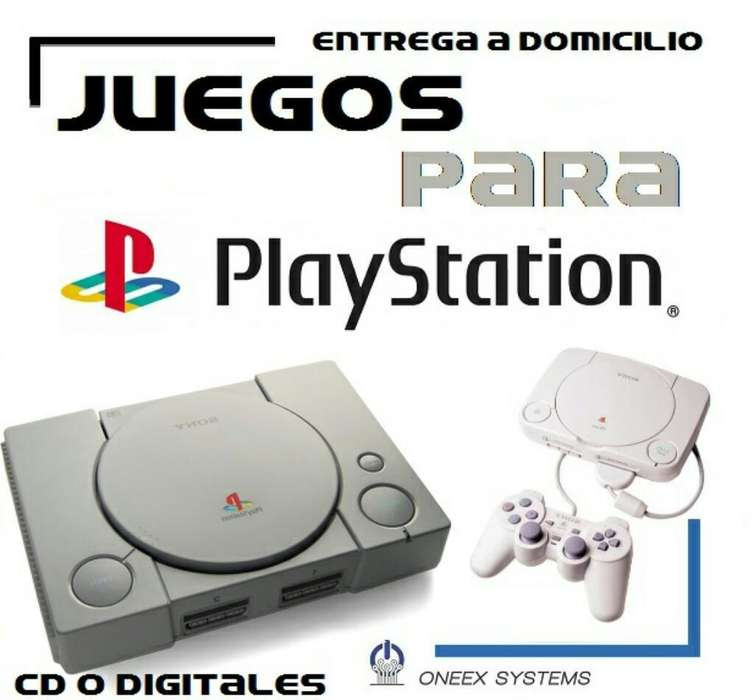 Juegos Playstation 1 Psx a Domicilio