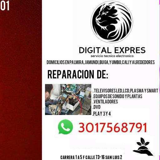 servicio técnico electrónico en televisores
