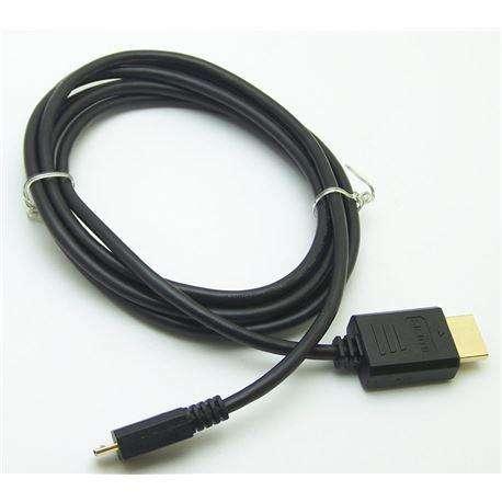 Cable MICRO USB a HDMI 1.5 METROS