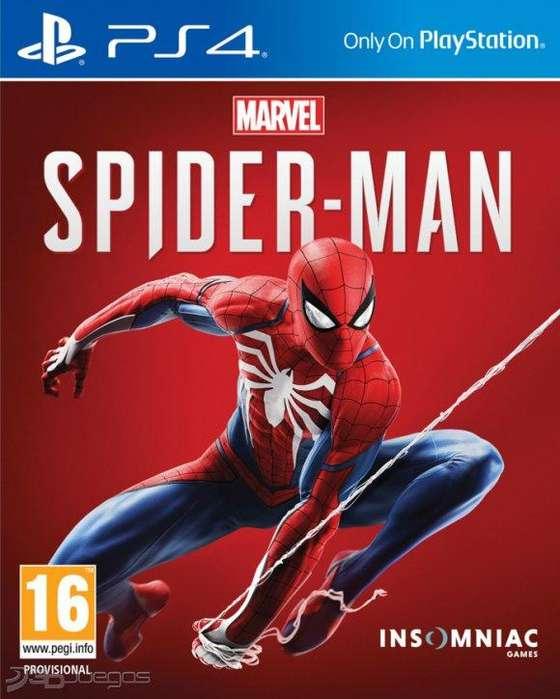 Videojuego Marvels Spider-man Ps4 NUEVO SELLADO