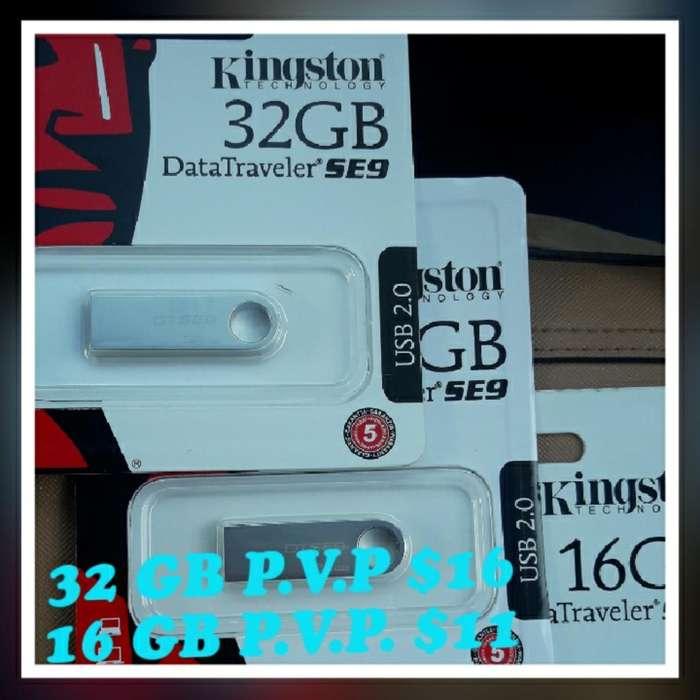 Pen Drive de 16 Y 32 Gb