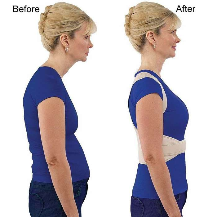 Faja Postural Abrojo Hombre Mujer Espalda Lumbar