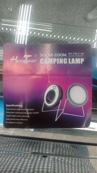 Lámpara solar de camping RYT91230
