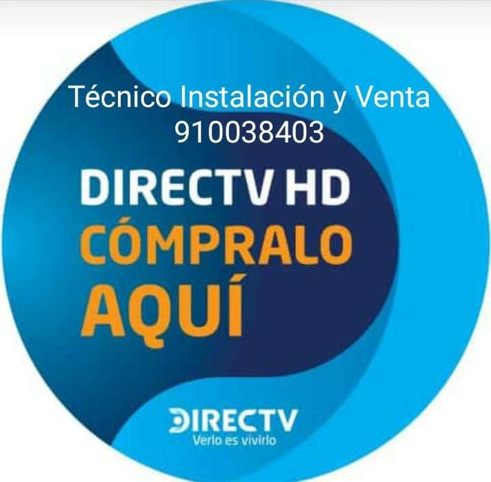 Servicio Técnico É Instalación DirecTV Prepago 910038403