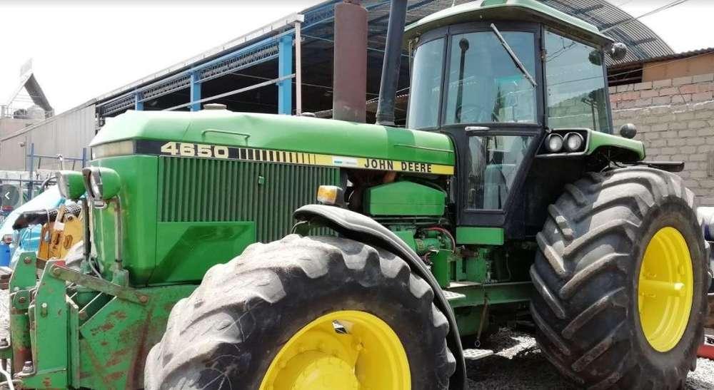 Tractores Agrícola J Deere 4650/190 Hp y 4955/230 Hp Recién Importados de Europa
