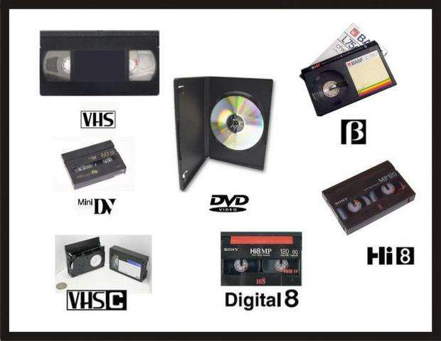 Conversion De Vhs- Lp-super 8 Y Otros DIFERENTES FORMATOS A DVD