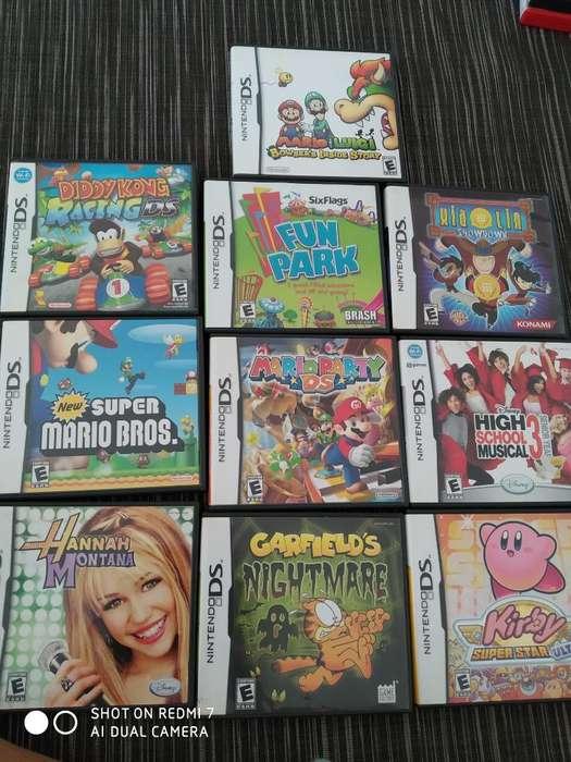 Juegos Originales Nintendo Ds