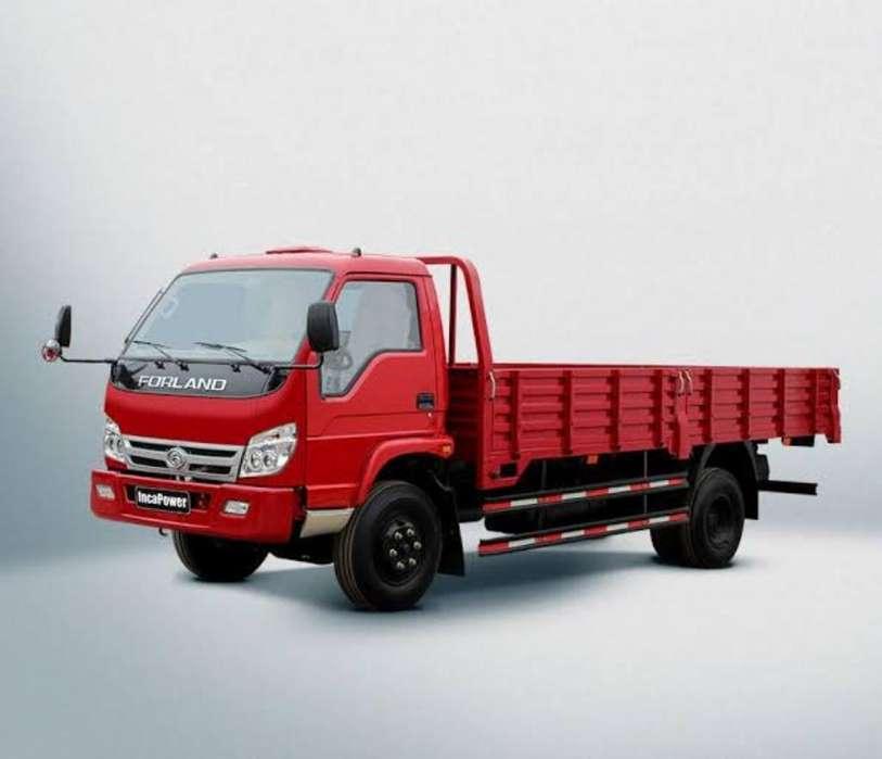 Camión con Chofer